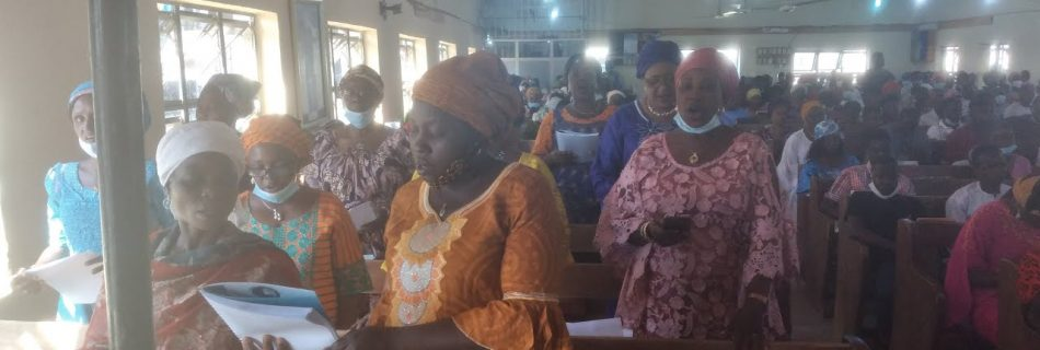 ECWA Goodnews PW Kubwa Women Fellowship Choir Ministering Praise & Worship Service