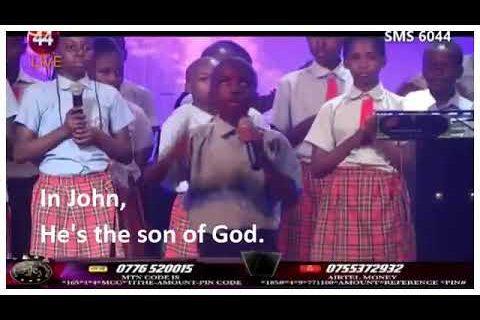 Sharing Jesus through the entire Bible by a 12 year old Aaron Larry Mutebi from Rainbow International Christian School, Class P.6, Uganda