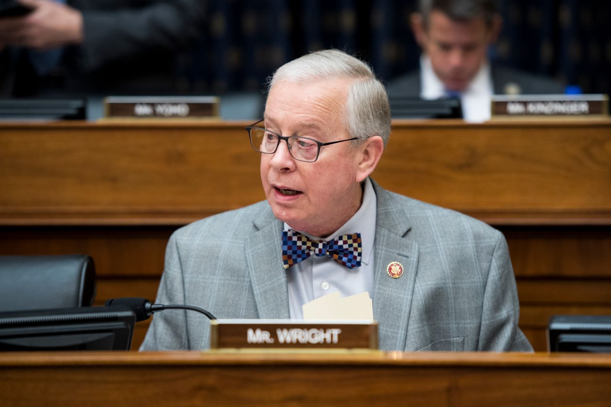 Rep. Ron Wright (R., Texas) died at age 67 two weeks after he was admitted to Baylor Hospital in Dallas. (Image by Bill Clark/CQ Roll Call/Getty Images)