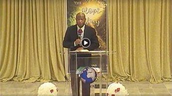 Palm Sunday Service at ECWA Maryland, March 28, 2021