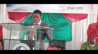 Giving your Children Back to GOD by Pastor Elisha James